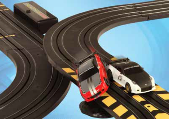 scalextric cars big